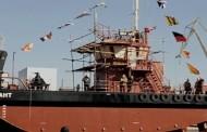 В Херсоне на воду спустили уникальное судно