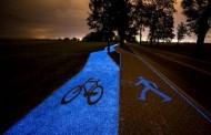 Велосипедная дорожка экономит свет